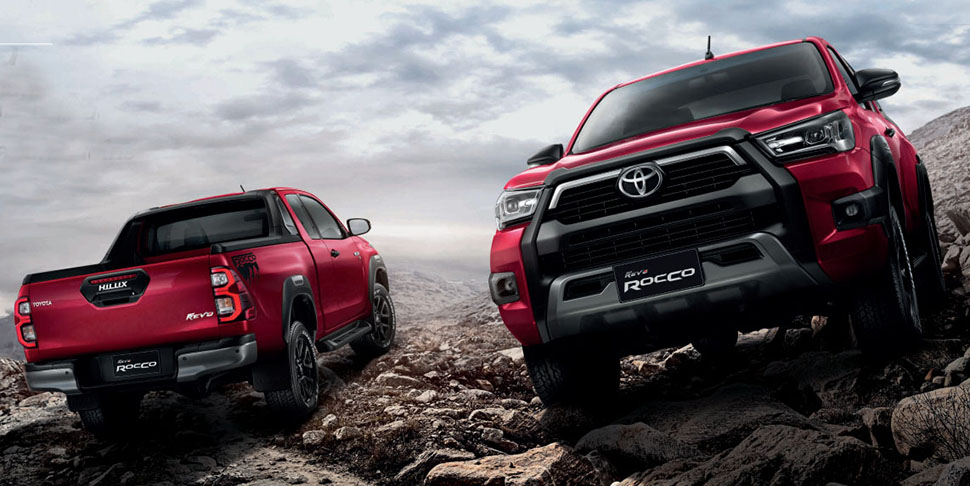 Toyota Hilux Revo 2020 2021 2022 Facelift Toyota Hilux Revo Rocco facelift 2020 2021 Export pictures specification
