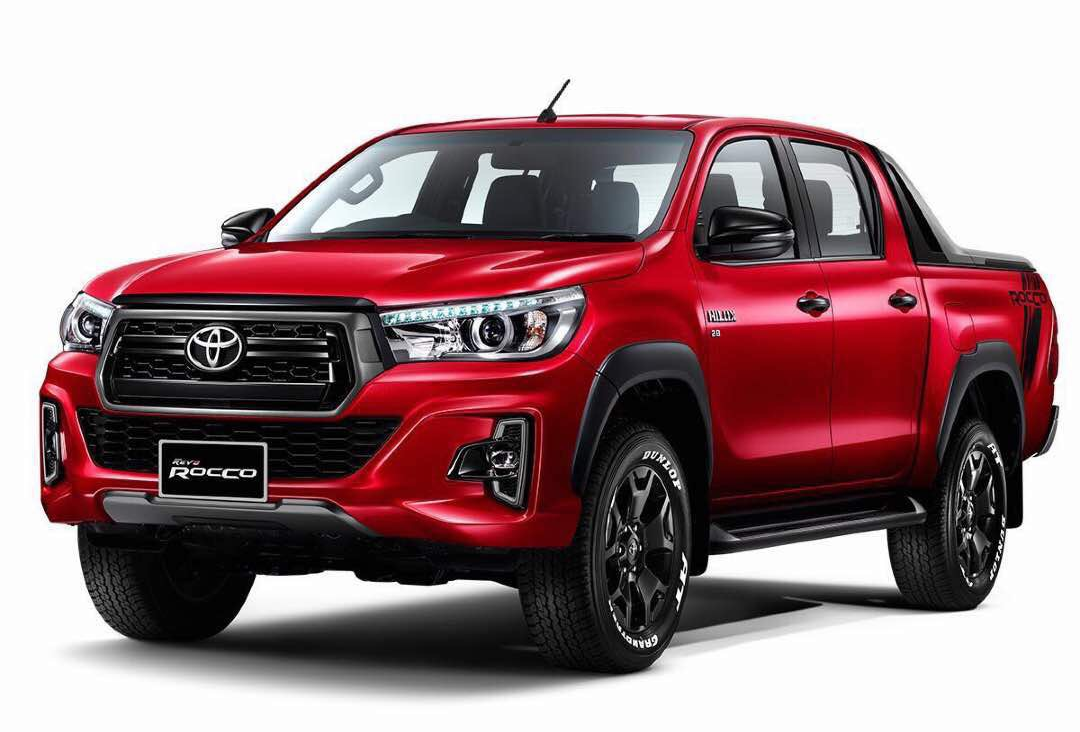 toyota hilux revo rocco 2018 trust motors toyota hilux revo thailand rocco 2018 19 double. Black Bedroom Furniture Sets. Home Design Ideas