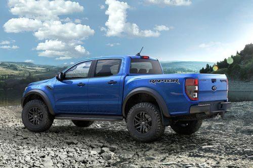 Ford F 150 Dimensions >> Ford Ranger Raptor 2.0L 4x4 2019 Export   Trust Motors-2020 Toyota Hilux Revo Rocco 4WD- Pickups ...