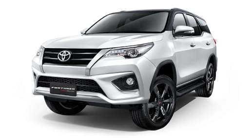 toyota fortuner 2 4v 4x4 a  t suv export