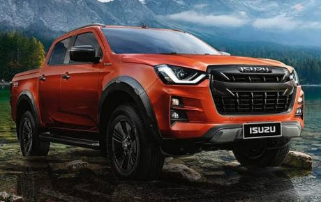 All New Isuzu D-MAX 2020 4×4 Double Cab Vcross Exporter All New 2021 Isuzu MU-X facelift export,