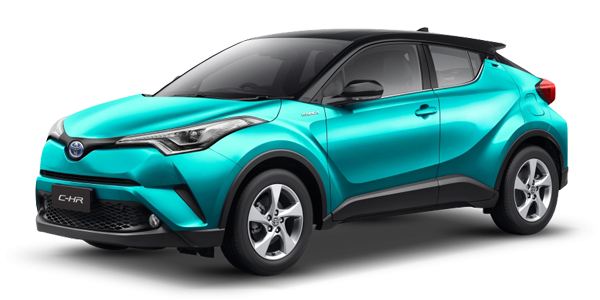 2019-2020 Toyota SUV C-HR 1800 cc Petrol Hybrid exporter ...